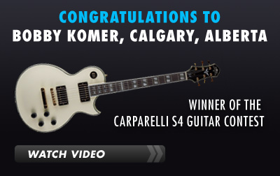 Carparelli S4 Guitar Contest